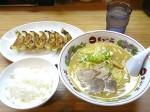 こってりラーメン+餃子+ごはん