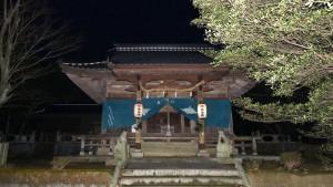 降松神社の中宮