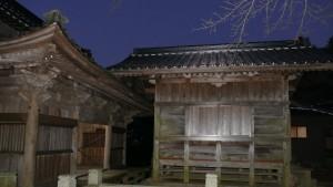 降松神社 中宮 拝殿と幣殿