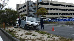 国道2号線の交通事故