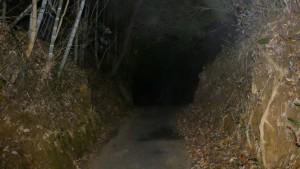降松神社上宮への参道