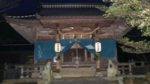 降松神社 中宮 拝殿
