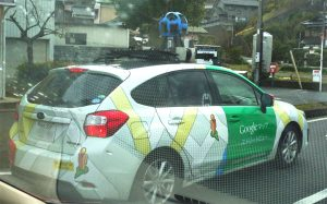 グーグルストリートビューカー_google street view car